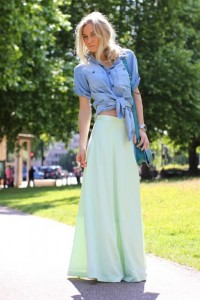 knotted-shirt-maxi-skirt-streetstyle