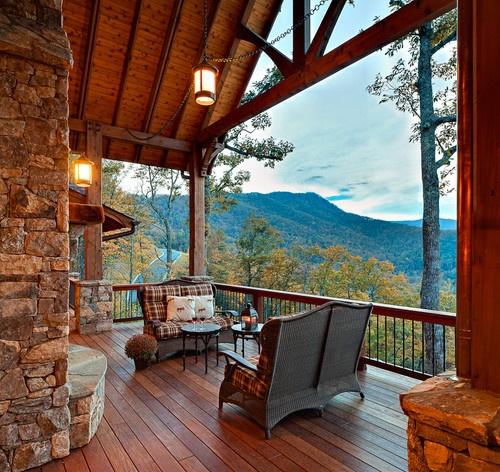 Atrium Home Design Ideas Pictures Remodel And Decor: Dağ Evi ÖrnekleriEzgiKonucu