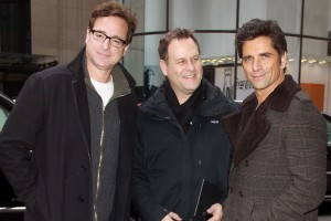 John Stamos, Bob Saget, Dave Coulier Promote Super Bowl Dannon Oikos Commercial
