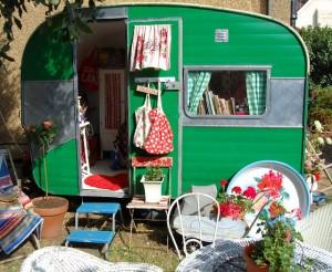 new caravan and garden 239