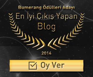 """Bumerang Ödülleri """"En İyi Çıkış Yapan Blog"""" Adayı"""
