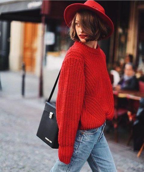 sokak-modası-sonbahar-kırmızı